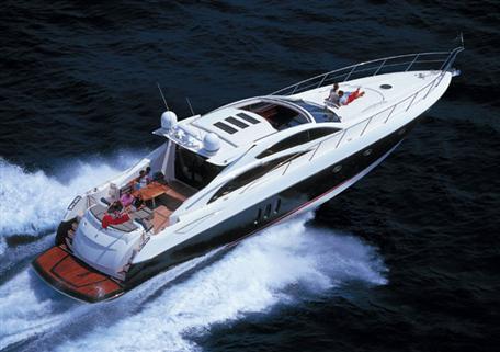 Boat charter Sunseeker SuperHawk 48. Builder: Sunseeker. Model: Predator 72
