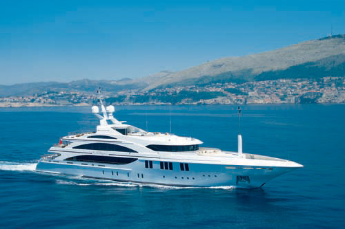 Yacht charter HAKVOORT Jemasa. Builder: BENETTI. Model: Andreas L
