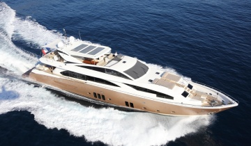 Yacht charter GUY COUACH 37M